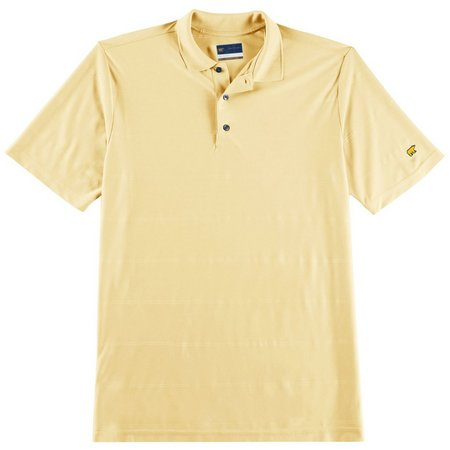 Jack Nicklaus Mens Golf Ottoman Solid Polo Shirt