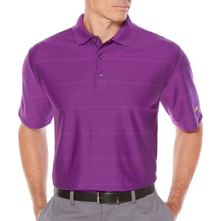 Jack Nicklaus Mens Golf Ottoman Solid Polo Shirt