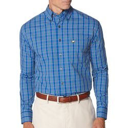 Jack Nicklaus Mens Turkish Plaid Long Sleeve Shirt