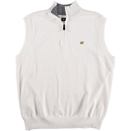 Jack Nicklaus Mens Sleeveless Heather Sweater Vest