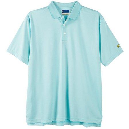 Jack Nicklaus Mens Jacquard Polo Shirt