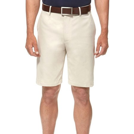 Jack Nicklaus Mens Performance Flat Front Shorts
