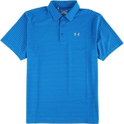 Under Armour Mens Marker Stripe Playoff Polo Shirt