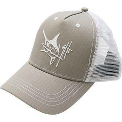 Guy Harvey Mens Bone Daddy Trucker Hat