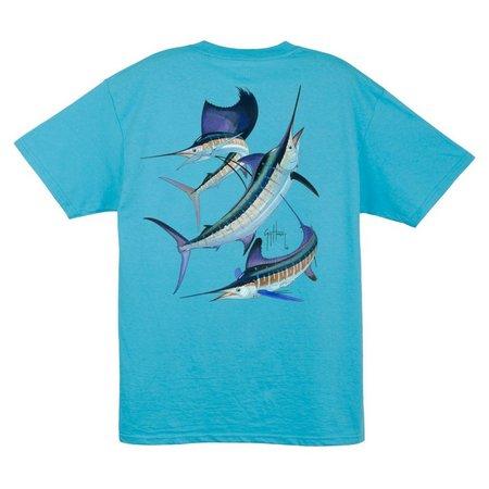 Guy Harvey Mens Grand Slam T-Shirt
