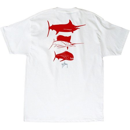 Guy Harvey Mens 3 Predators T-Shirt