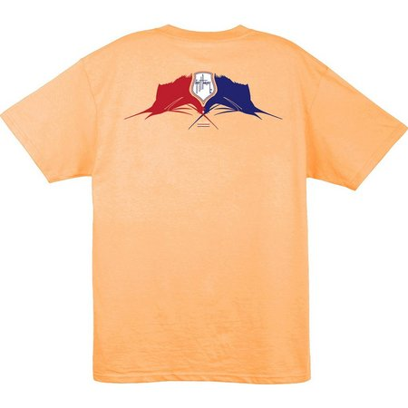 Guy Harvey Mens Crossed Sails T-Shirt