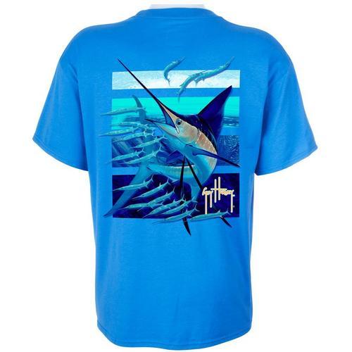 Guy Harvey Mens Ballyhoo Marlin T Shirt Bealls Florida