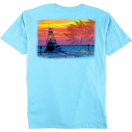 Guy Harvey Mens Gulfstream T-Shirt
