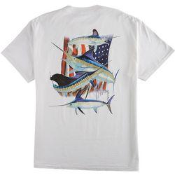Guy Harvey Mens Stand United T-Shirt