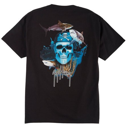 Guy Harvey Mens Pirate Reef T-Shirt