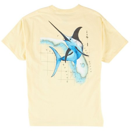 Guy Harvey Mens Florida Swordfish T-Shirt