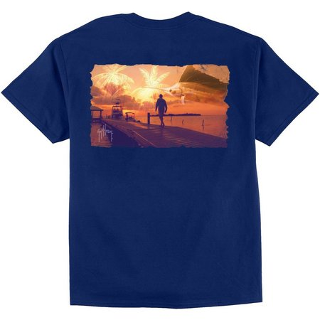 Guy Harvey Mens Walk The Plank T-Shirt