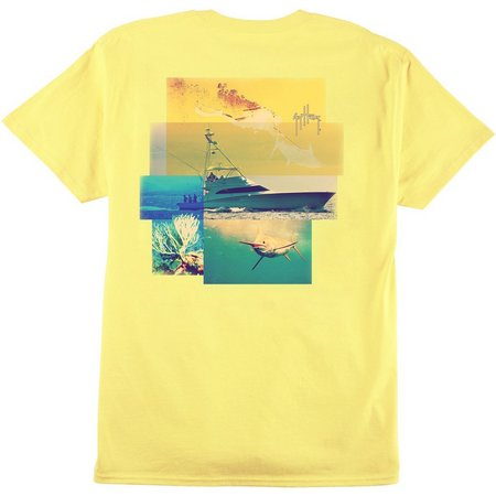 Guy Harvey Mens Tagged T-Shirt