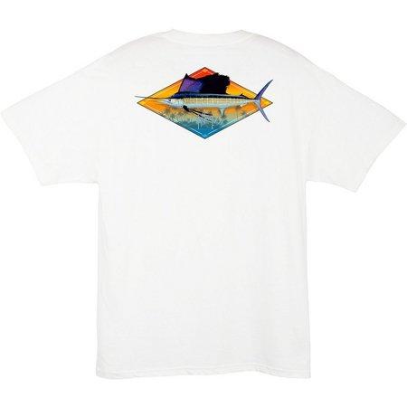 Guy Harvey Mens Downwind T-Shirt