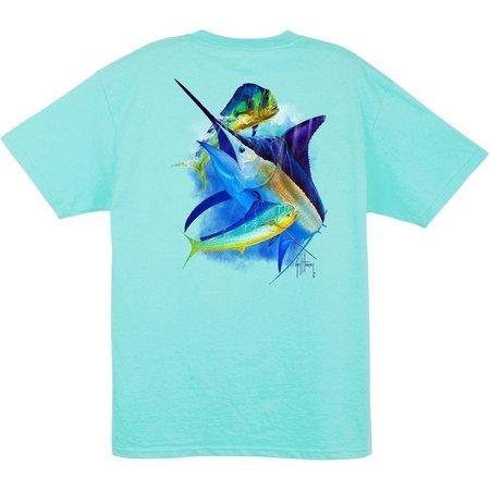 Guy Harvey Mens Splittin' Time T-Shirt
