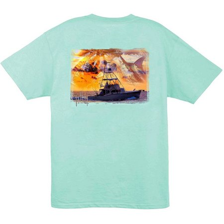 Guy Harvey Mens Short Sleeve Cruisin' T-Shirt