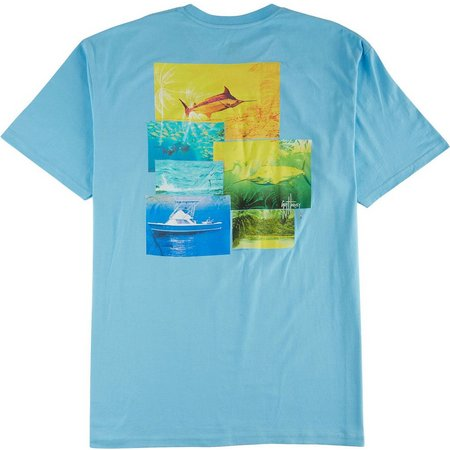 Guy Harvey Mens New Dawn T-Shirt