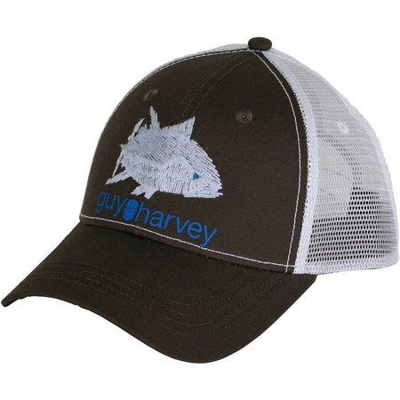 Guy Harvey Mens Skribbler Trucker Hat