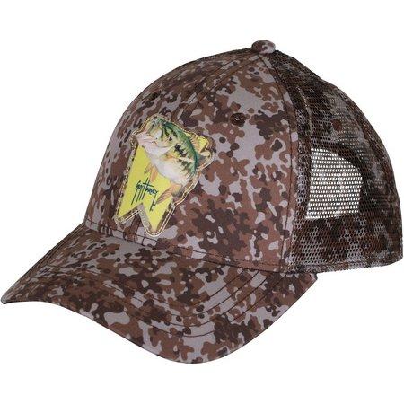 Guy Harvey Mens Boom Shaka Trucker Hat
