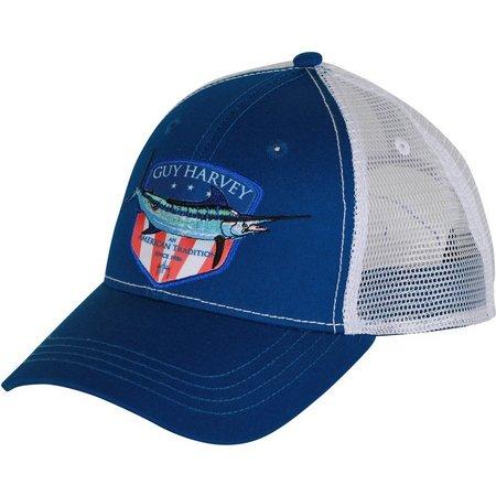 Guy Harvey Mens Glory Trucker Hat