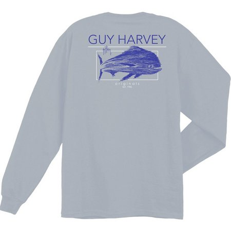 Guy Harvey Mens Fast Mover UVX Long Sleeve