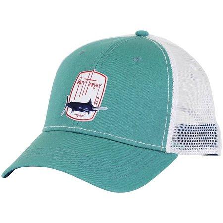Guy Harvey Mens Barrel Roll Trucker Hat