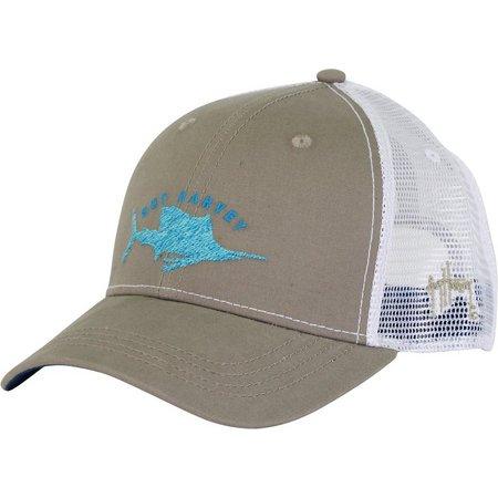Guy Harvey Mens Streaker Trucker Hat
