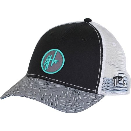 Guy Harvey Mens Black Hatrix Hat