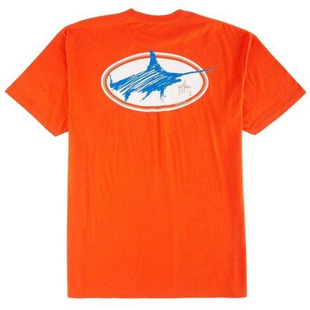 Guy Harvey Mens Swordsmith Sribble T-Shirt
