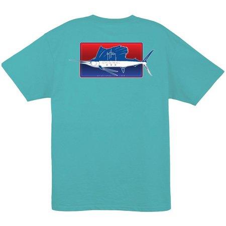 New! Guy Harvey Mens Half & Half T-Shirt