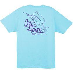 New! Guy Harvey Mens Vector T-Shirt
