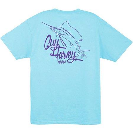 Guy Harvey Mens Vector T-Shirt