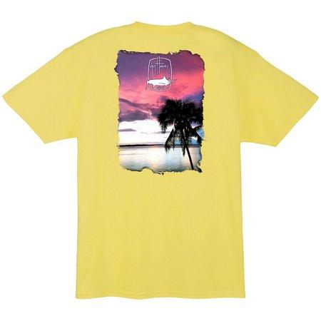 Guy Harvey Mens Lone Palm T-Shirt