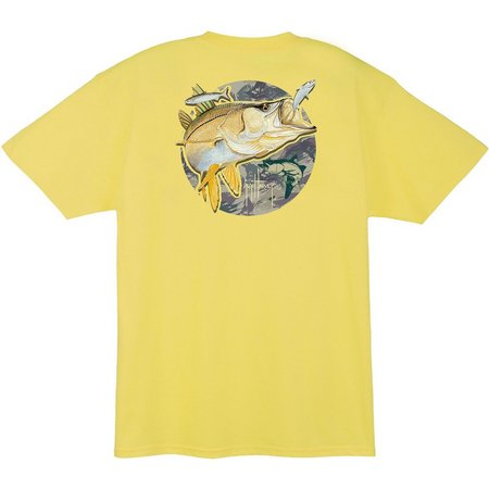 Guy Harvey Mens Deep Grass T-Shirt
