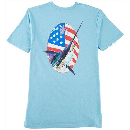 Guy Harvey Mens Merican T-Shirt