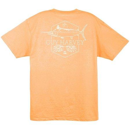 Guy Harvey Mens Scratchy Marlin T-Shirt