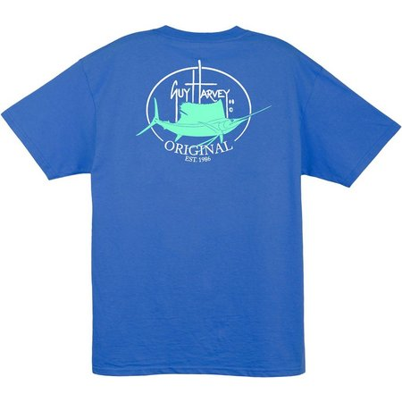 Guy Harvey Mens Original Fin T-Shirt