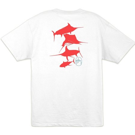 Guy Harvey Mens Wrecking Crew UVX T-Shirt