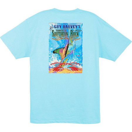 Guy Harvey Mens Blackhawk T-Shirt