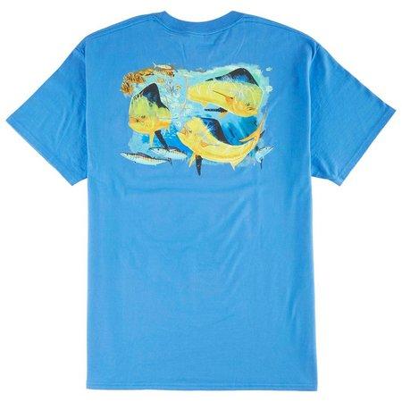 Guy Harvey Mens Bunch of Bulls T-Shirt