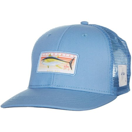 Guy Harvey Mens Sunrise Trucker Hat