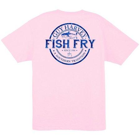 New! Guy Harvey Mens Fish Fry T-Shirt