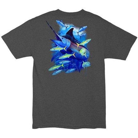 New! Guy Harvey Mens Relentless T-Shirt