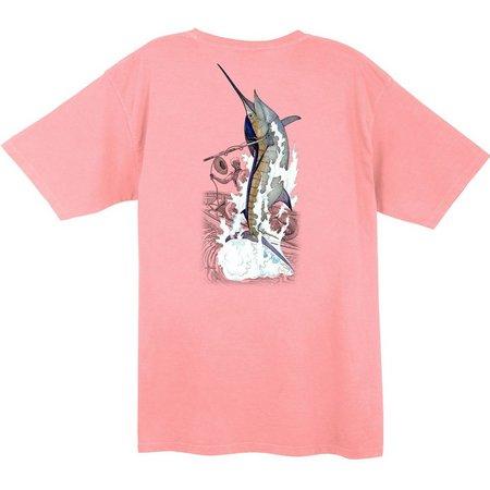 Guy Harvey Mens Vintage Harpooned T-Shirt