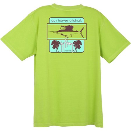 Guy Harvey Mens Framed Kiwi T-Shirt