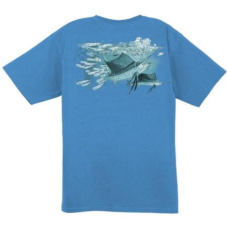 Guy Harvey Mens Sailfish Oasis T-Shirt