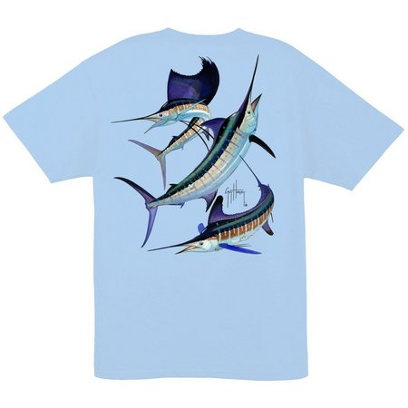 Guy Harvey Mens Grand Slam T-Shirt