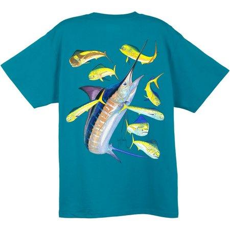 Guy Harvey Mens Marlin & Dorado T-Shirt