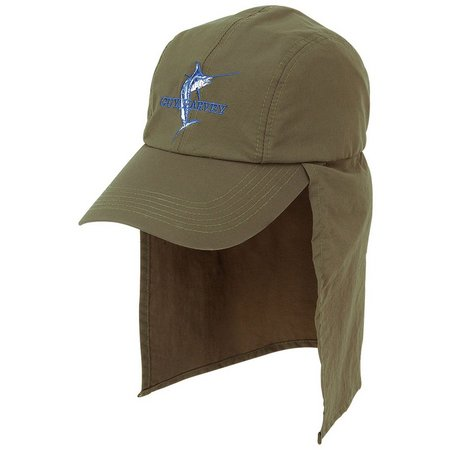 Guy Harvey Mens Green Nylon Hat